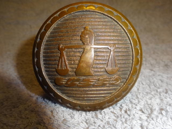 Antique Entry Knob made by The Chicago Hardware Manufacturing Company