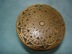 Original Antique Passage Knob Produced by Mallory and Wheeler