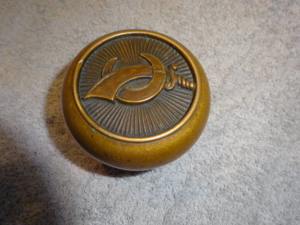 Original Masonic Shriners knob