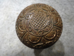 Antique Doorknob By Norwich Lock Co.