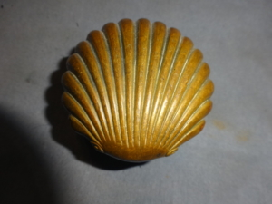 Antique Shell Doorknob