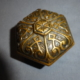 Antique Bronze c.1880 Hex Knob