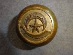 ANTIQUE SHRINERS PAPERWEIGHT