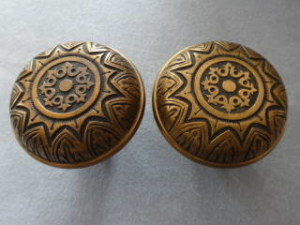 Antique Doorknob Pairs