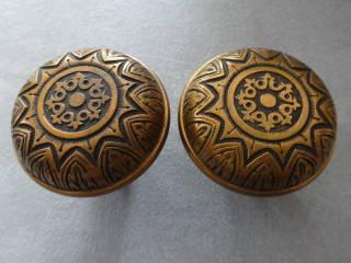 Antique Doorknob Pairs