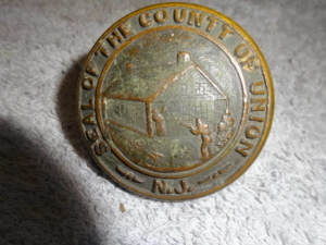 Original NJ. Doorknob Seal