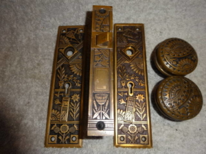 Antique Door Set by Peterboro
