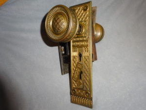 Rare Antique Door Set by P.F. Corbin