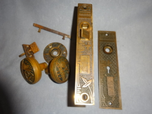 Antique Door Set by Lockwood Co.