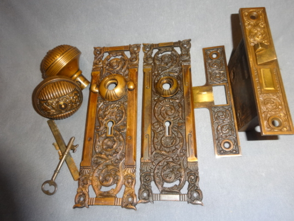 Antique Door Set by Reading Hardware Co.