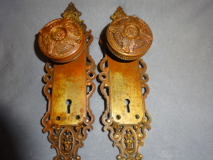 Antique Door Set by P. F. Corbin