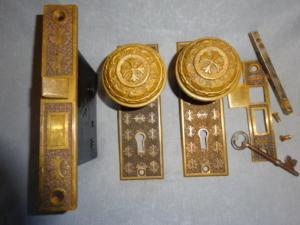 Antique Passage Set by Nashua Lock Co