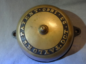 Original Mechanical Doorbell by Taylor's