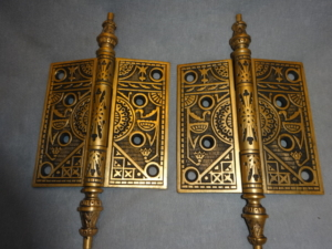Original Bronze Hinges