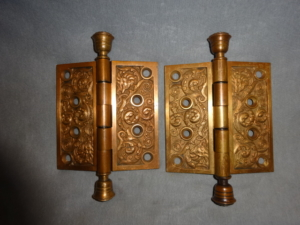 Original Antique Door Hinges by Reading Hardware