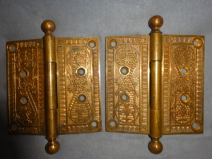 Antique Door Hinges by Hopkins and Dickenson