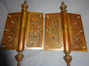 Original Door Hinges by P. F. Corbin