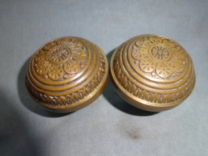 Antique Bronze Doorknobs by Nashua
