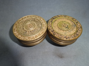 Antique Bronze Doorknobs by Branford Lock Co.