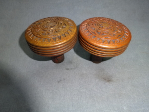 Antique Passage Knobs by Mallory and Wheeler