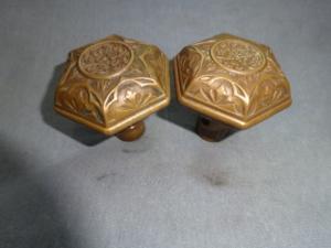 Antique Passage knobs by P.F. Corbin