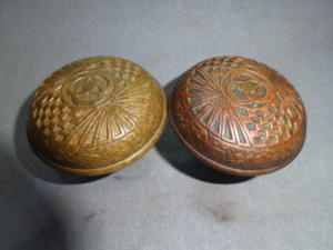 Antique Doorknobs by Mallory and Wheeler
