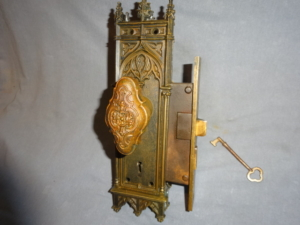 Antique Gothic Style Door Set