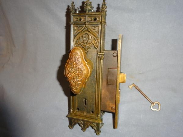 Antique Gothic Style Door Set