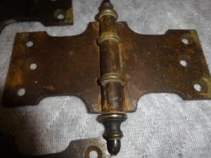 Set of Original Door Hinges