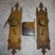 Antique Gothic Passage Lock Set