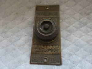 Original Doorbell Buzzer by Branford Lock Works