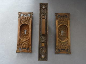 Antique Pocket Door Hardwaer
