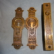 Antique Pocket Door Set by P.F. Corbin