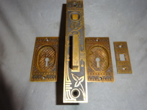 Original Pocket Door Lock Set