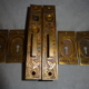 Antique Pocket Door Set by Lockwood