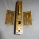 Antique Single Door Pocket Lock Set