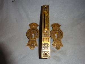 Antique Single Door Pocket Set by Sargent