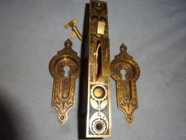 Original Single Door Pocket Lock Set