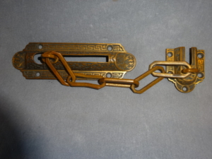 Antique Victorian Chain Lock