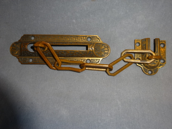 Antique Victorian Chain Lock