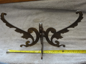 Antique Bronze Victorian Hook