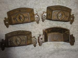 Antique Figural Bin Pulls