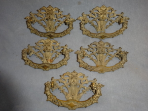 Original Lion Head Dresser handles
