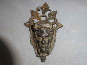 Antique match holder