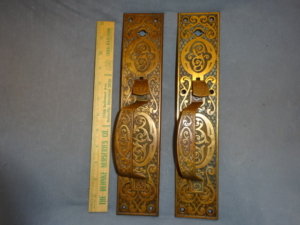Antique Store Doors Pulls