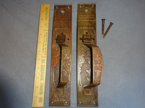 Antique Store Door Pulls