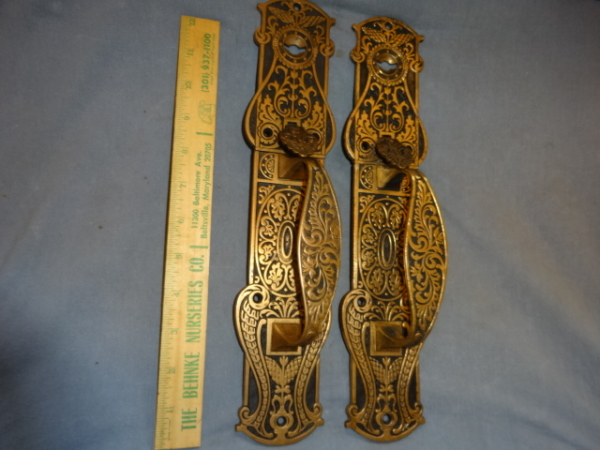 Original Store Door Pulls by Hopkins and Dickenson