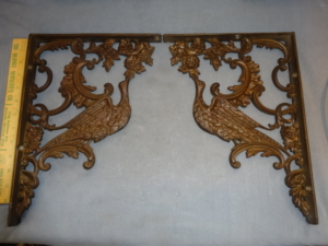 Antique Bird Brackets
