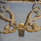 Extra Rare Antique Figural Bronze Coat Hook