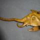 Vintage Brass Elephant Coat Hook